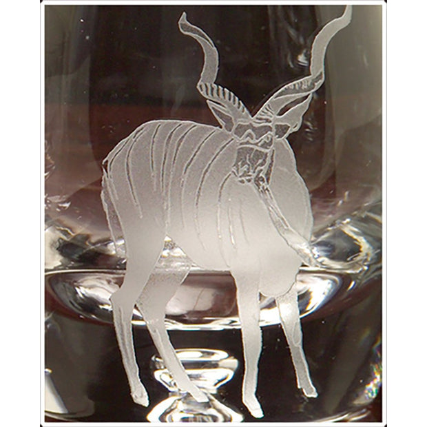 Kevin's Crystal Tapered Highball Glass 14 oz.-HOME/GIFTWARE-KUDU-Kevin's Fine Outdoor Gear & Apparel