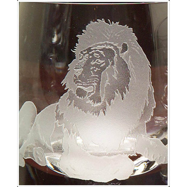 Kevin's Crystal Tapered Highball Glass 14 oz.-HOME/GIFTWARE-LION-Kevin's Fine Outdoor Gear & Apparel