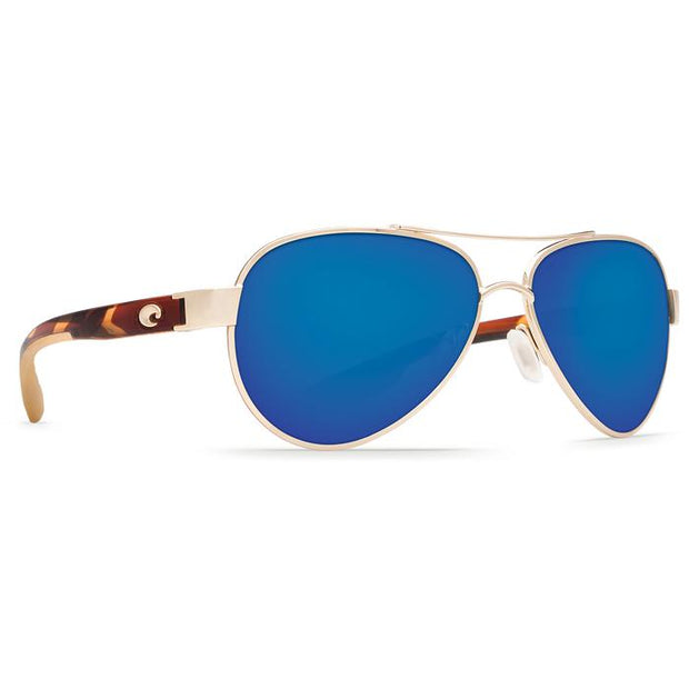 "Costa ""Loreto"" Polarized Sunglasses-SUNGLASSES-ROSE GOLD (64)-BLUE 580G-Kevin's Fine Outdoor Gear & Apparel"