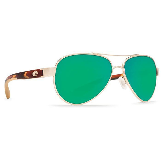 "Costa ""Loreto"" Polarized Sunglasses-SUNGLASSES-ROSE GOLD (64)-GREEN 580P-Kevin's Fine Outdoor Gear & Apparel"