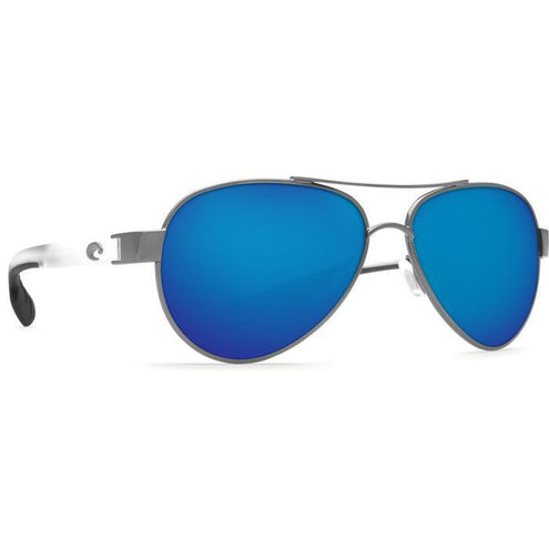 "Costa ""Loreto"" Polarized Sunglasses-SUNGLASSES-SILVER GRAY-BLUE 580G-Kevin's Fine Outdoor Gear & Apparel"
