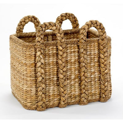 Mainly Baskets Large Rectangular Rush Basket-HOME/GIFTWARE-Kevin's Fine Outdoor Gear & Apparel