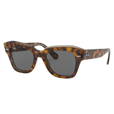 Ray Ban State Street Havana-SUNGLASSES-Dark Grey Classic-Tortoise-Kevin's Fine Outdoor Gear & Apparel