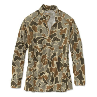 Orvis Hunting DriRelease Camo 1/4-Zip 2MFC-MENS CLOTHING-M-Camo-Kevin's Fine Outdoor Gear & Apparel