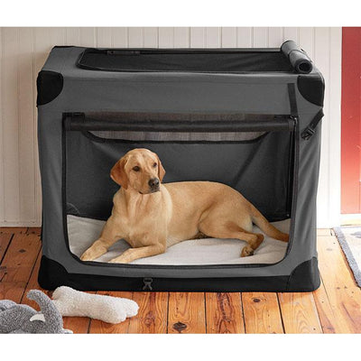 Orvis Hose-Off Folding Dog Travel Crate-Dog Accessories-Kevin's Fine Outdoor Gear & Apparel