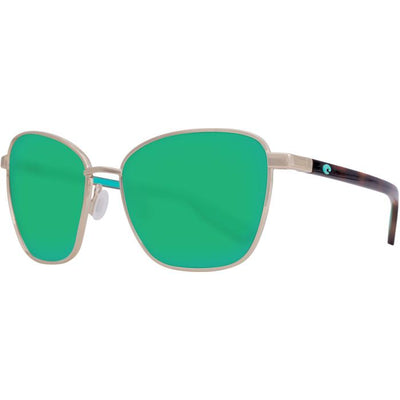 "Costa ""Paloma"" Polarized Sunglasses-SUNGLASSES-Gold-Green 580G-Kevin's Fine Outdoor Gear & Apparel"