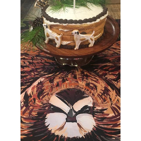 Kevin's Custom Designed Quail Ring Tablecloth-HOME/GIFTWARE-Kevin's Fine Outdoor Gear & Apparel-QUAIL-Kevin's Fine Outdoor Gear & Apparel