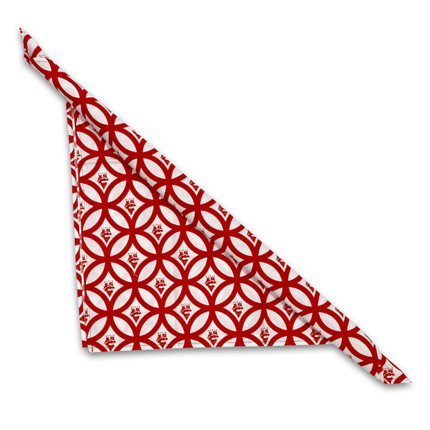 Kevin's Cotton Quail Hunt Bandana/Dinner Napkin-WOMENS CLOTHING-KING BOB RED-Kevin's Fine Outdoor Gear & Apparel