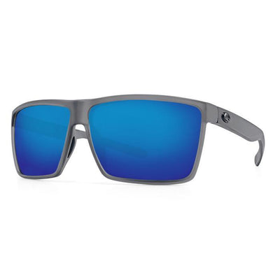 "Costa ""Rincon"" Polarized Sunglasses-SUNGLASSES-Smoke Crystal-Blue Mirror 580G-Kevin's Fine Outdoor Gear & Apparel"