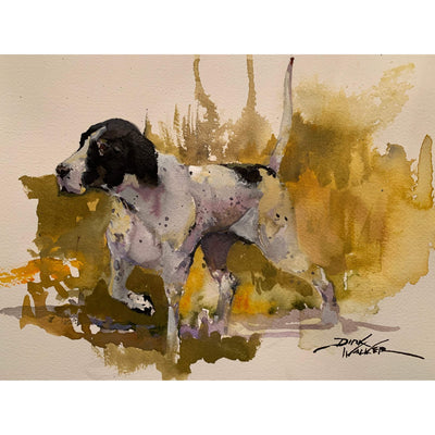"Dirk Walker ""English Pointer"" Giclee Print-Decor-8""x10""-Kevin's Fine Outdoor Gear & Apparel"