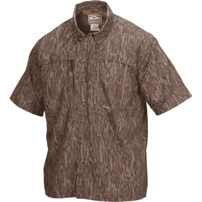 Drake Waterfowl Wingshooter's Shirt-MENS CLOTHING-M-Bottomland-Kevin's Fine Outdoor Gear & Apparel