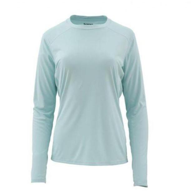 Simms Ladies Solarflex Long Sleeve Crewneck-WOMENS CLOTHING-Light Teal-XL-Kevin's Fine Outdoor Gear & Apparel