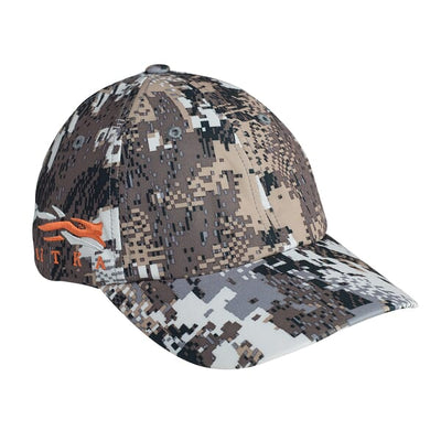 Sitka Side Logo Cap-CAMO CLOTHING-Elevated ii-Kevin's Fine Outdoor Gear & Apparel