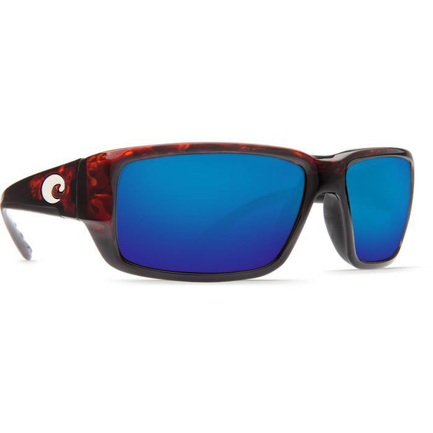 "Costa ""Fantail"" Polarized Sunglasses-SUNGLASSES-TORTOISE (10)-BLUE 580G-Kevin's Fine Outdoor Gear & Apparel"