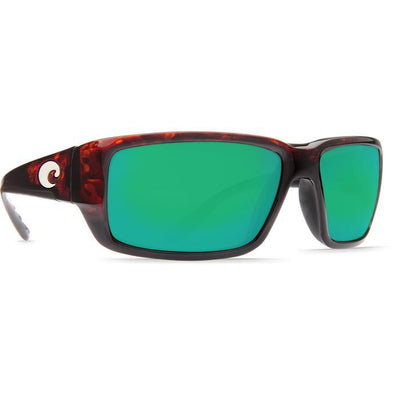 "Costa ""Fantail"" Polarized Sunglasses-SUNGLASSES-TORTOISE (10)-GREEN 580G-Kevin's Fine Outdoor Gear & Apparel"