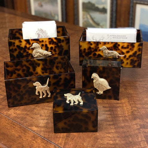 Sculpted Hunt Theme Acrylic Box-HOME/GIFTWARE-Kevin's Fine Outdoor Gear & Apparel