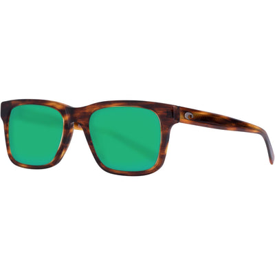 "Costa ""Tybee"" Polarized Sunglasses-SUNGLASSES-Shiny Tortise-Green Mirror 580G-Kevin's Fine Outdoor Gear & Apparel"