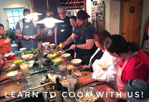 Welcome To The Weekend Kitchen Cooking School