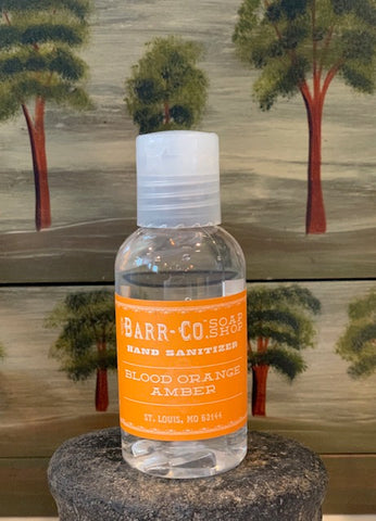 BLOOD ORANGE AMBER HAND SANITIZER  BARR-CO