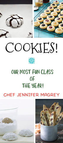 12/7 Holiday Cookie Making Party!