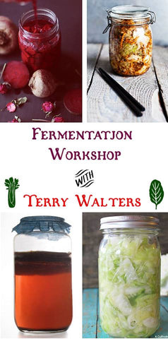 4/16 The Power of Fermentation with Terry Walters- Updated!