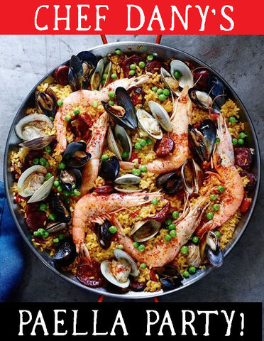 6/5 Paella Party with Chef Dany Roche