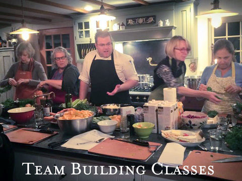 Team Building Cooking Classes!