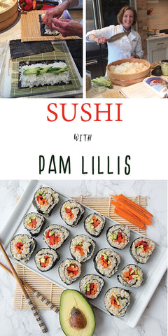 10/25 Sushi with Pam Lillis