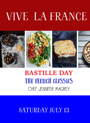 7/13 Bastille Day Cooking Class