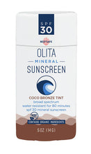 Load image into Gallery viewer, Organic Mineral Sunstick SPF 30 - Tinted