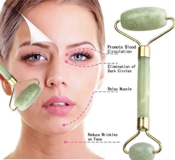 Double Headed JADE ROLLER Facial Massage ( BUY 1 TAKE 1 PROMO )