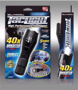 High-Powered Tactical Flashlight ( BUY 1 TAKE 1 )