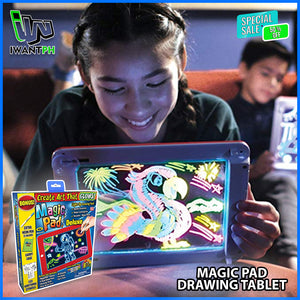 MAGIC PAD DRAWING TABLET @ 50% OFF!