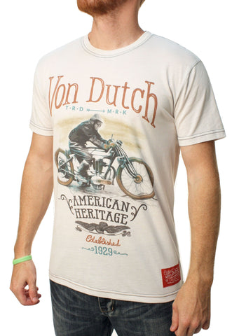 Von Dutch Men's Heritage Graphic T-Shirt