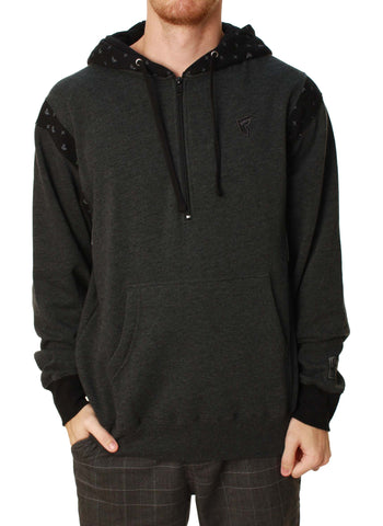 Famous Stars And Straps Men's Alpine Half Zip Pullover Hoodie