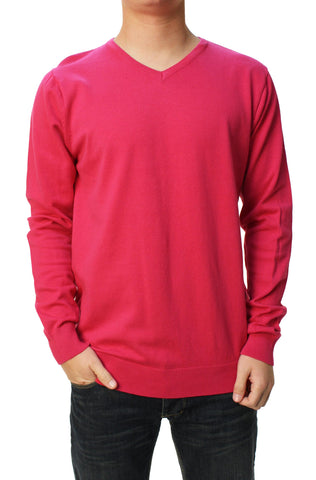 Calvin Klein Men's Long Sleeve V-Neck Sweater