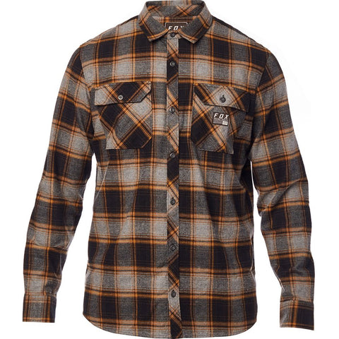 Fox Racing Men's Traildust Long Sleeve Flannel Shirt