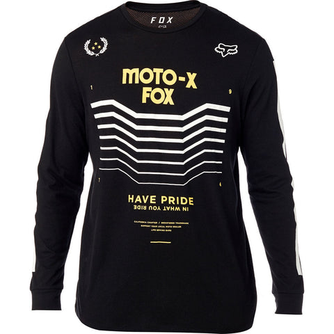 Fox Racing Men's Pride Long Sleeve Knit Graphic T-Shirt
