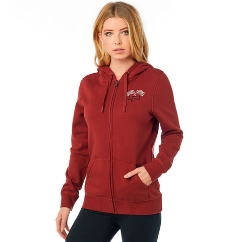 Fox Racing Women's Endo Zip Fleece Hoodie