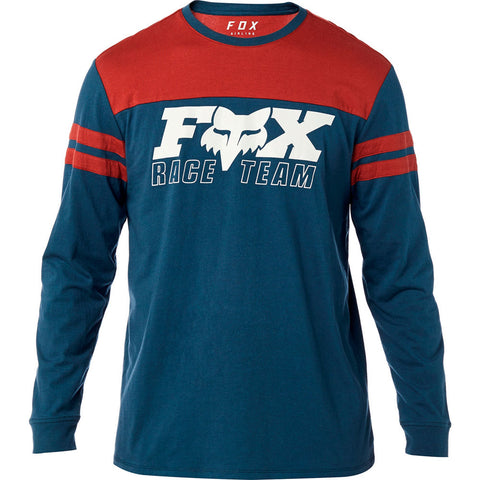 Fox Racing Men's Race Team Long Sleeve Airline Graphic T-Shirt