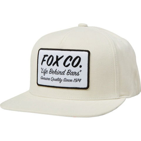 Fox Racing Men's Resin Snapback Hat