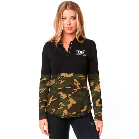 Fox Racing Women's Satellite Knit Pullover Fleece Hoodie
