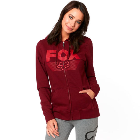 Fox Racing Women's Ascot Zip Up Fleece Hoodie
