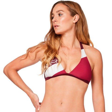 54b6f46d911be Fox Racing Women's Kingsport Fixed Halter Bikini Top