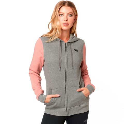 Fox Racing Women's Everglade Zip Up Fleece Hoodie