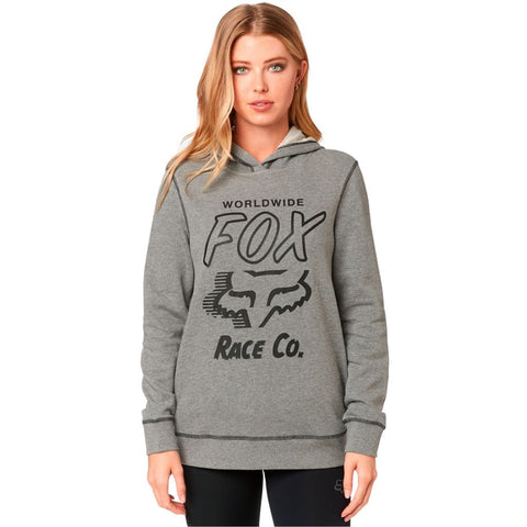 Fox Racing Women's Worldwide Pullover Fleece Hoodie