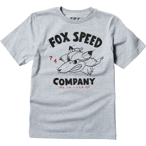 Fox Racing Boy's Youth Bomber Graphic T-Shirt