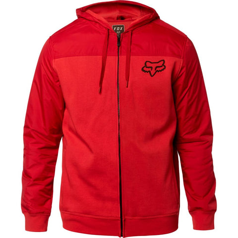 Fox Racing Men's Pivot Zip Up Fleece Hoodie