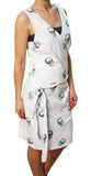 "Alpinestars Women's ""Drake Wrap"" Skull Dress White"