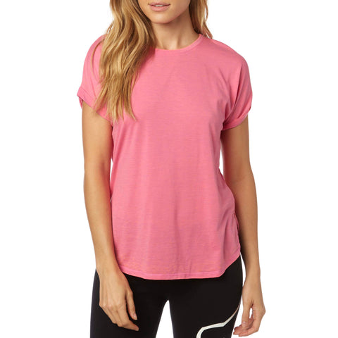 Fox Racing Women's Escaped Crew Roll Sleeve Top